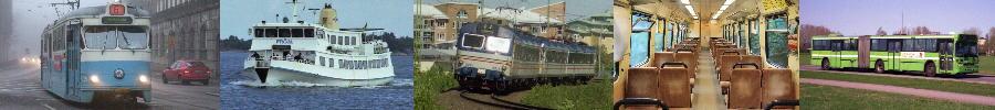 Swedish transit images