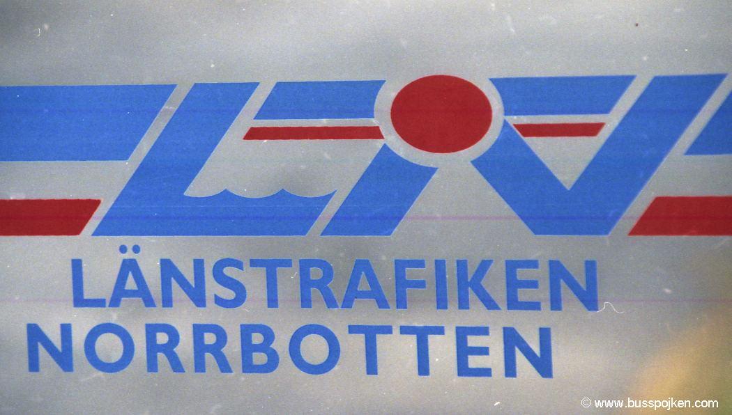 Norrbottens länstrafik.