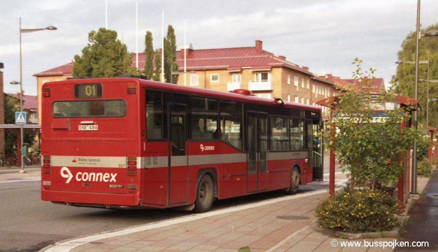 Linjebuss 587, Boden.