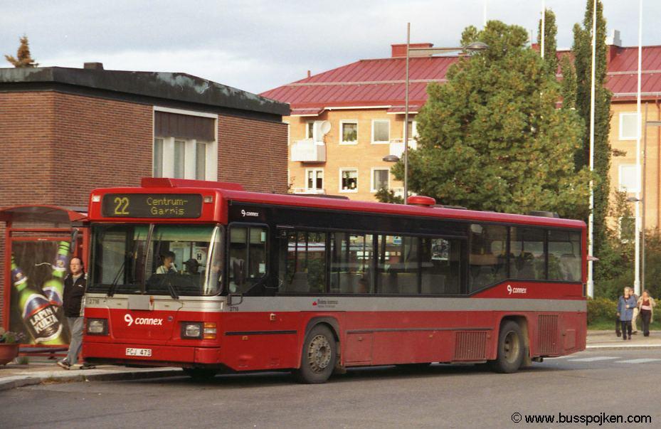 Linjebuss 2716-22, Boden.