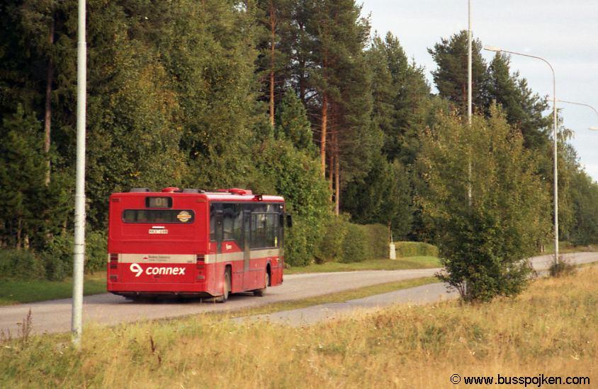 Linjebuss 588, vid Citronvägen, Boden.