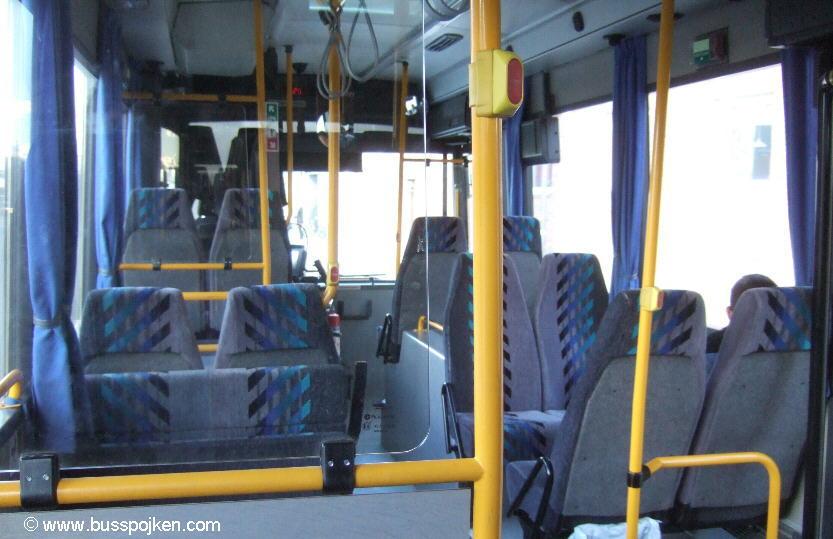 Bodenbuss 3, inside.