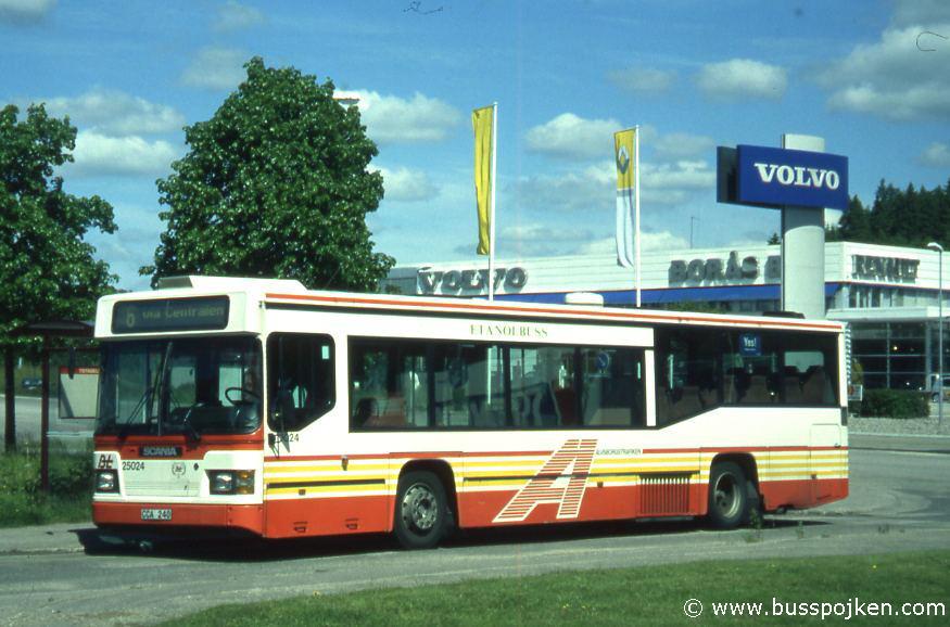 Borås lokaltrafik 25024-6, Hulta.