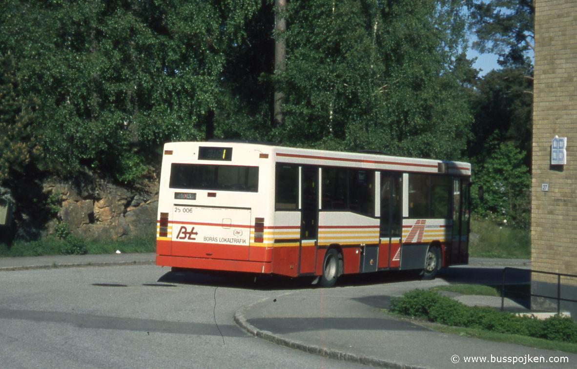 Borås lokaltrafik 25006-1, Fritidsgården.