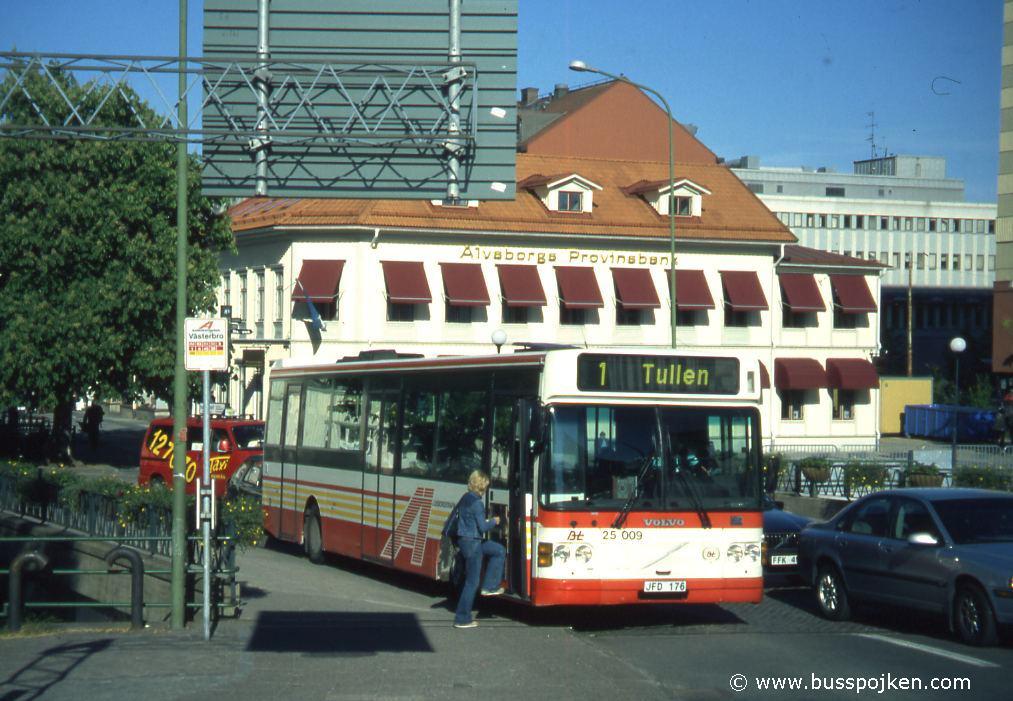 Borås lokaltrafik 25009-1, Västerbro.