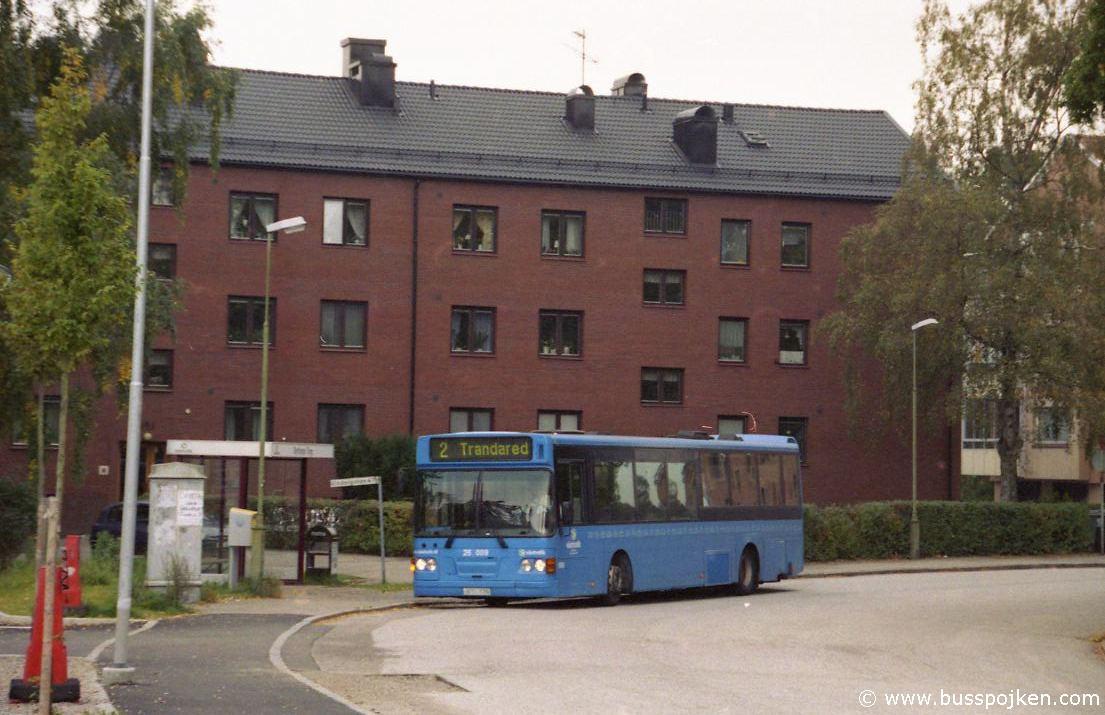 Borås lokaltrafik 25009-2, Byttorps torg.