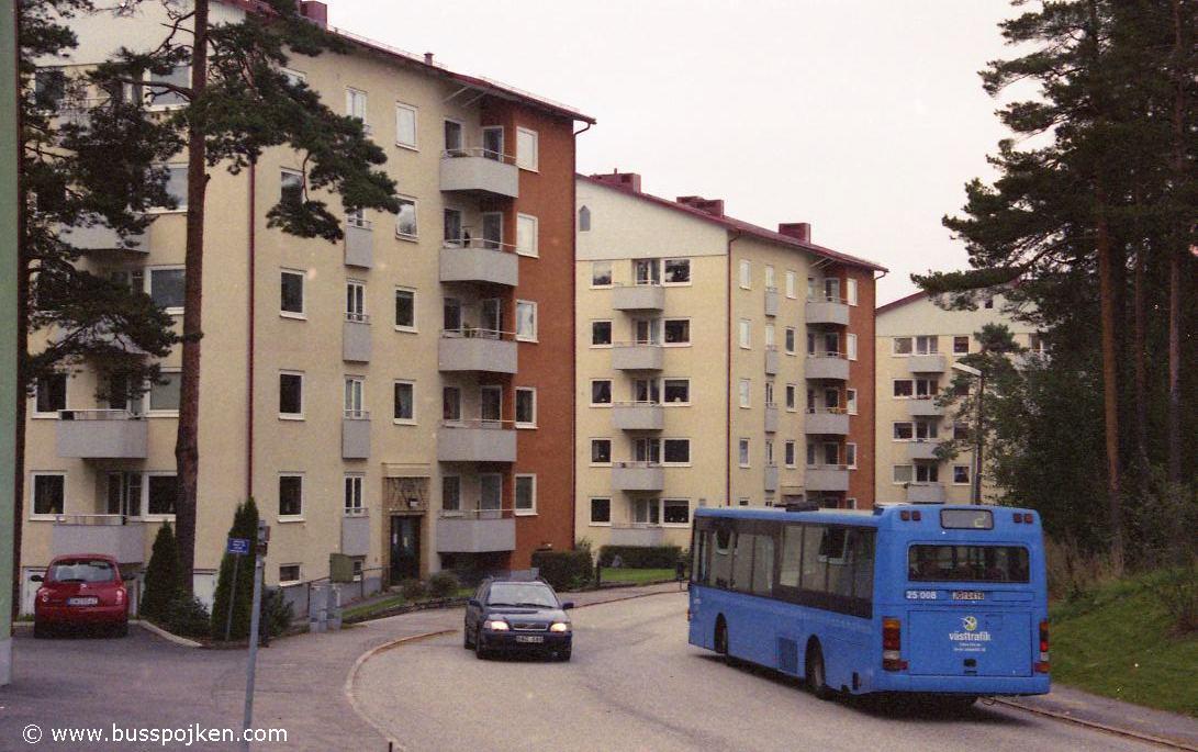 Borås lokaltrafik 25008-2, Byttorp.