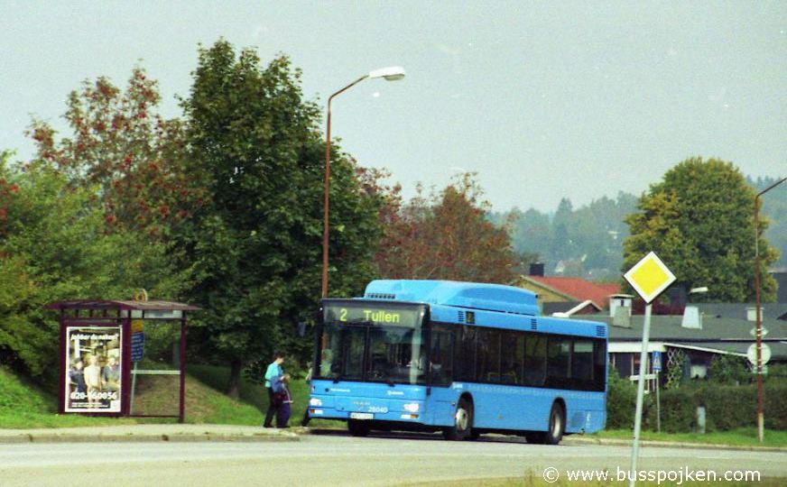 Borås lokaltrafik 25040-2, Brakteaten.