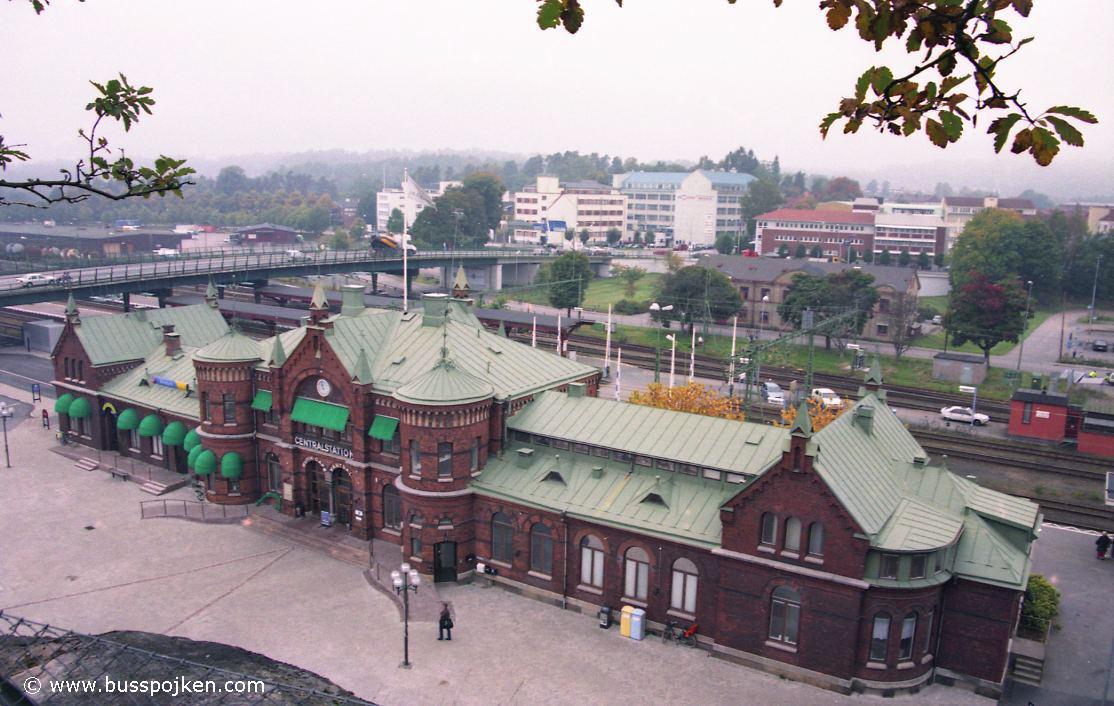 Borås centralstation.