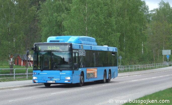 Borås lokaltrafik 25073-1, Hässleholmen.