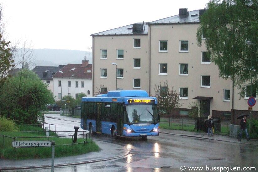 Borås lokaltrafik 25056-7, Engelsbrektsgatan 117.