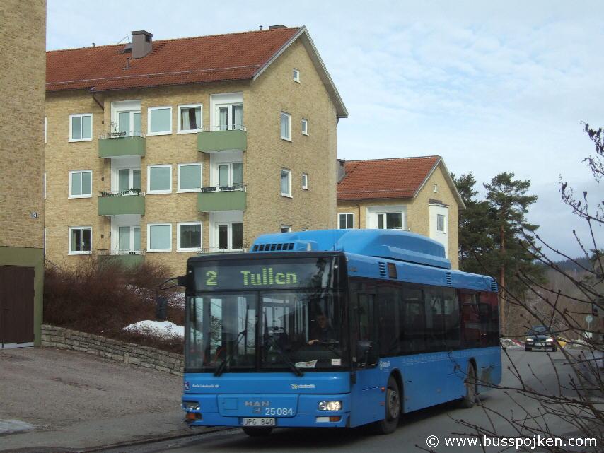 Borås lokaltrafik 25084-2, Fjällkroken.