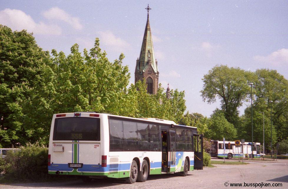 Nobina 4208, Falkenberg.