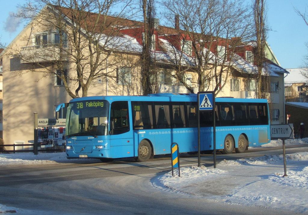 Nobina 6443, Falköping.
