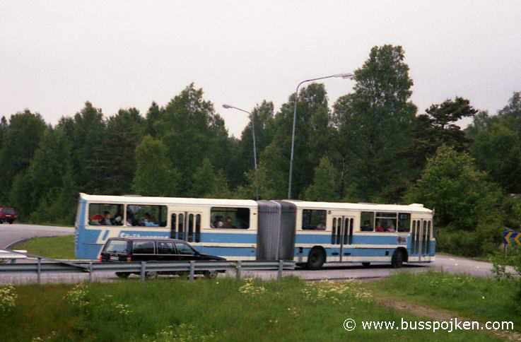 Volvo B58, GS 621, as SB 33 (later 43), by Askims Svartmosse in 1989.