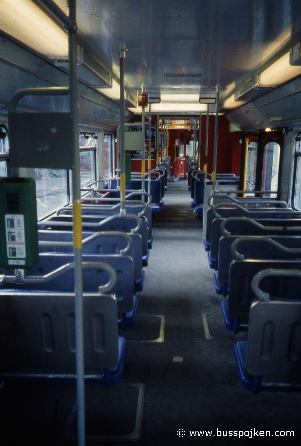 Interior of M21 205.