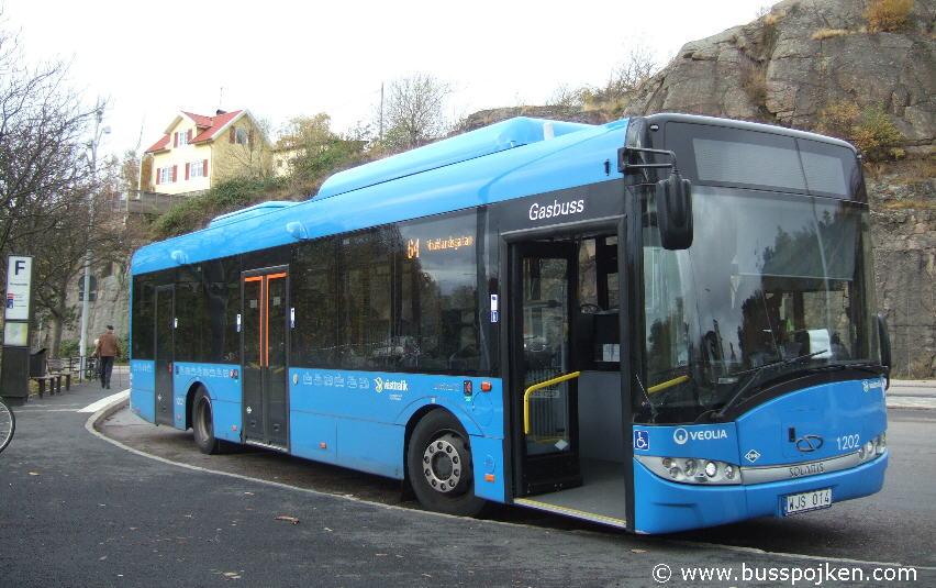 Veolia 1202, A short Solaris.