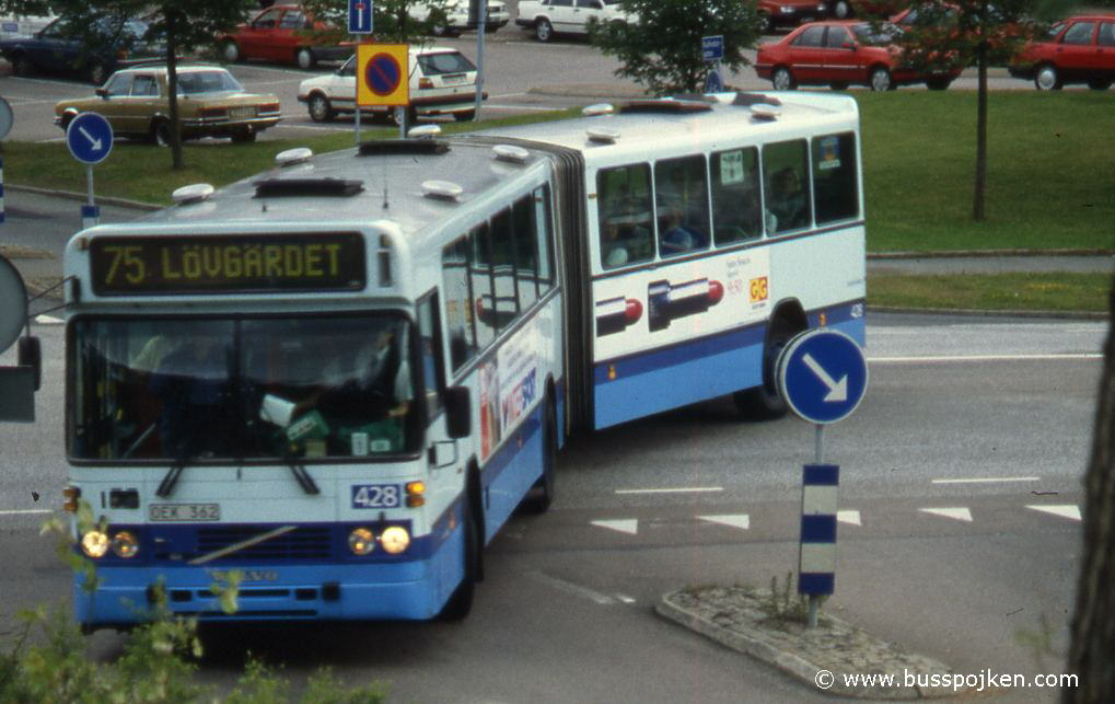 GS 428 of 1991, here in summer 1996.