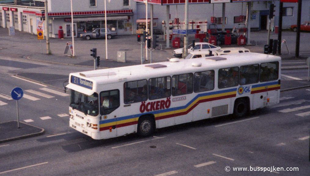 GS Scania 112 number 40 in summer 1996.
