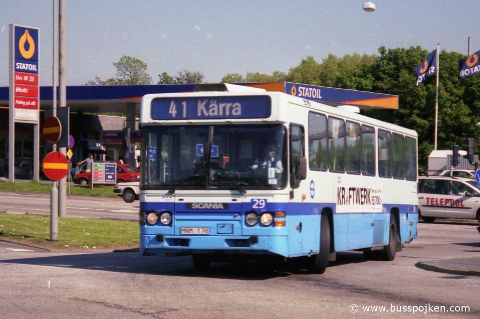 GS 41 by Brunnsbo in June 1997.