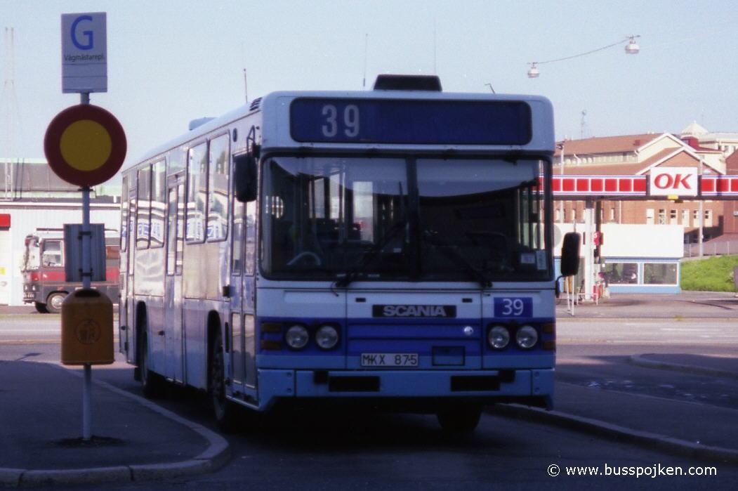 GS 39 by Vågmästareplatsen in 1997.