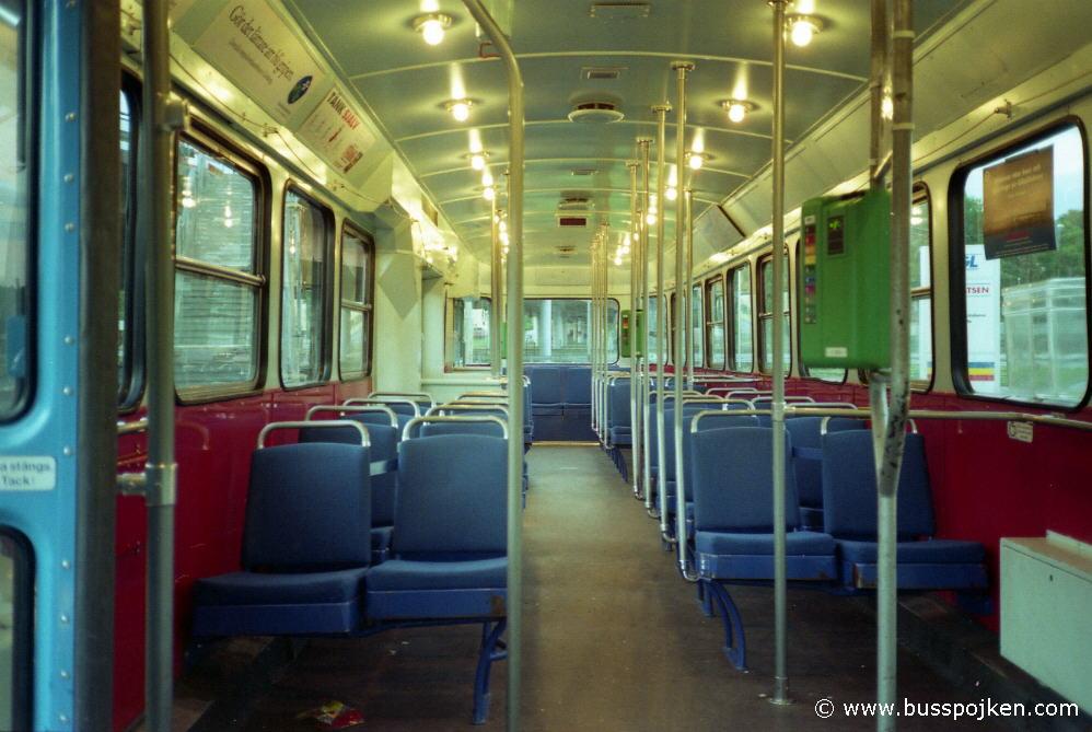 Interior of M28 744.