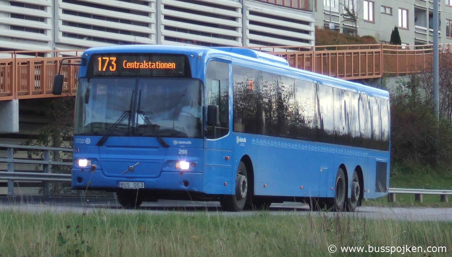 GS 298 by Kanelgatan in Gårdsten 2010.