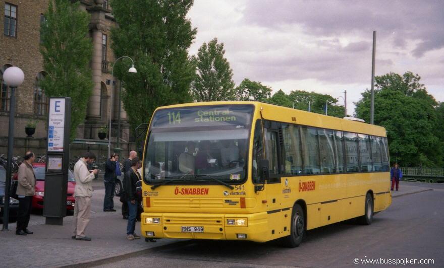 Göteborg Den Oudsten 541, Drottningtorget.