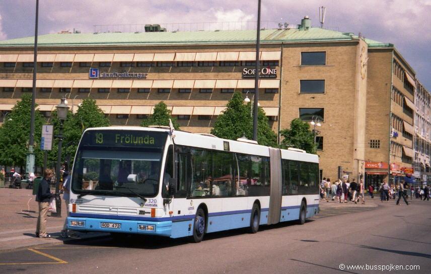 Göteborg Den Oudsten 320, Brunnsparken.