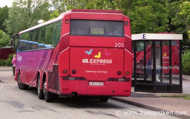 GS 205 in Landvetter, 2004.