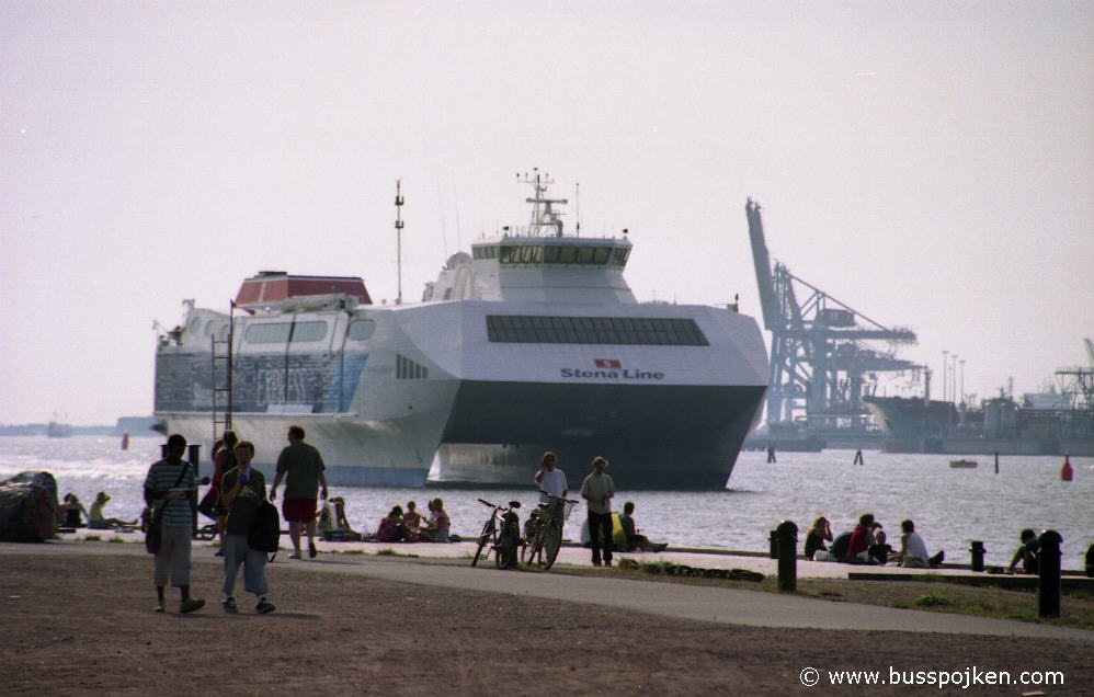 Stena Carisma from Klippan, August 2004.
