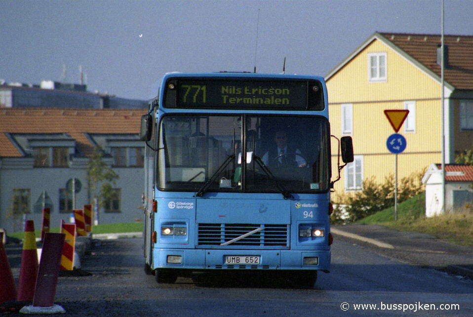 GS 94, a Danish second hand purchase, here seen in 2004.