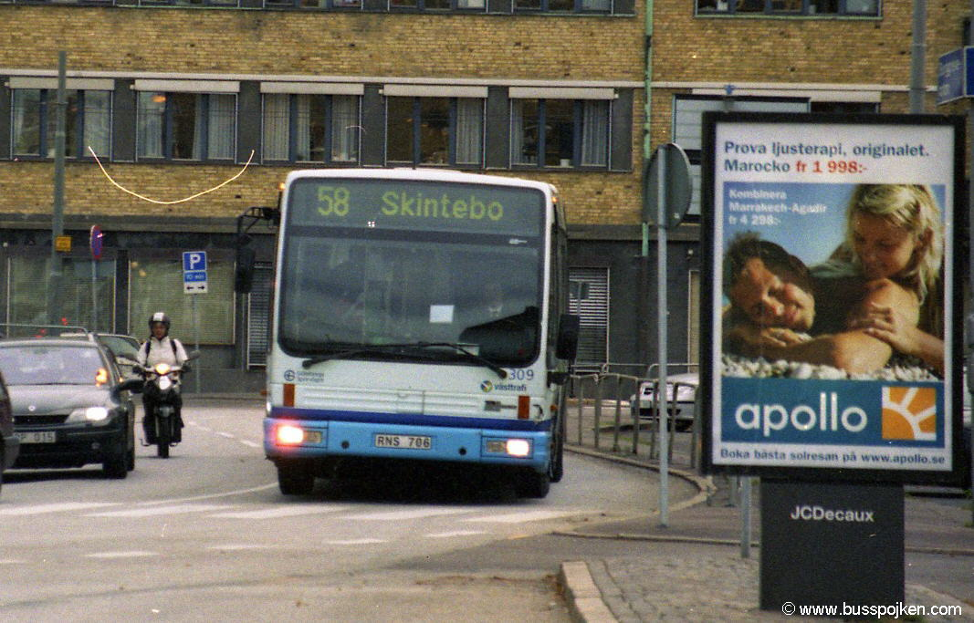 Göteborg Den Oudsten 309, Åkareplatsen.