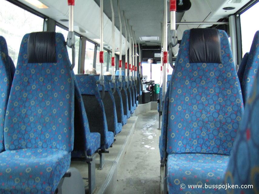 Inside Den Oudsten GS 356, route 755 in 2006.
