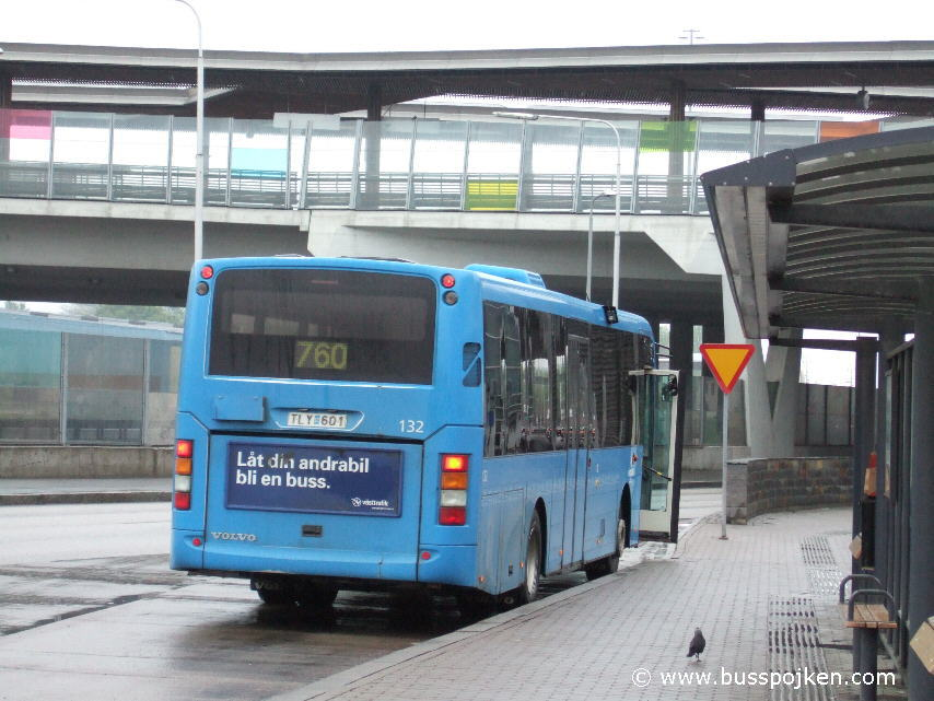 GS 132 in Mölndal (lower level), May 2005.