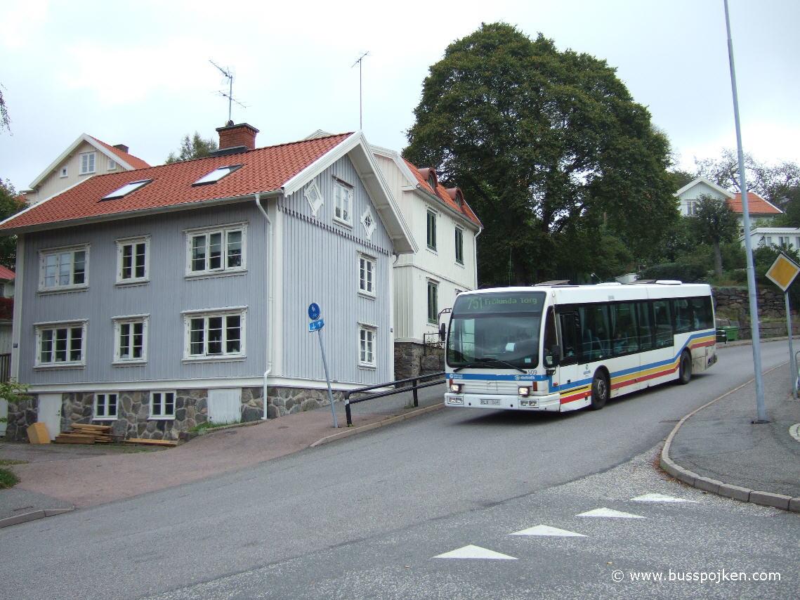 Göteborg Den Oudsten 506, Ryet.
