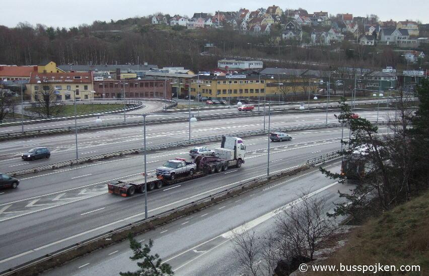 Västerleden, December 2006.