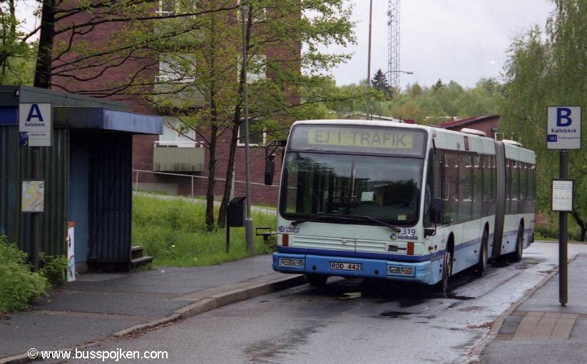 Göteborg Den Oudsten 319, Kallebäck.