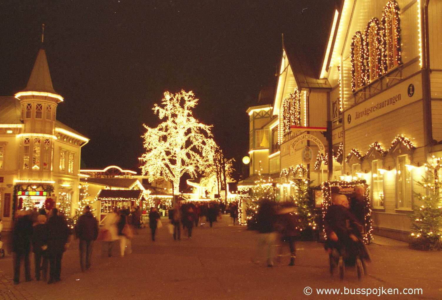 Jul på Liseberg in December 2008.