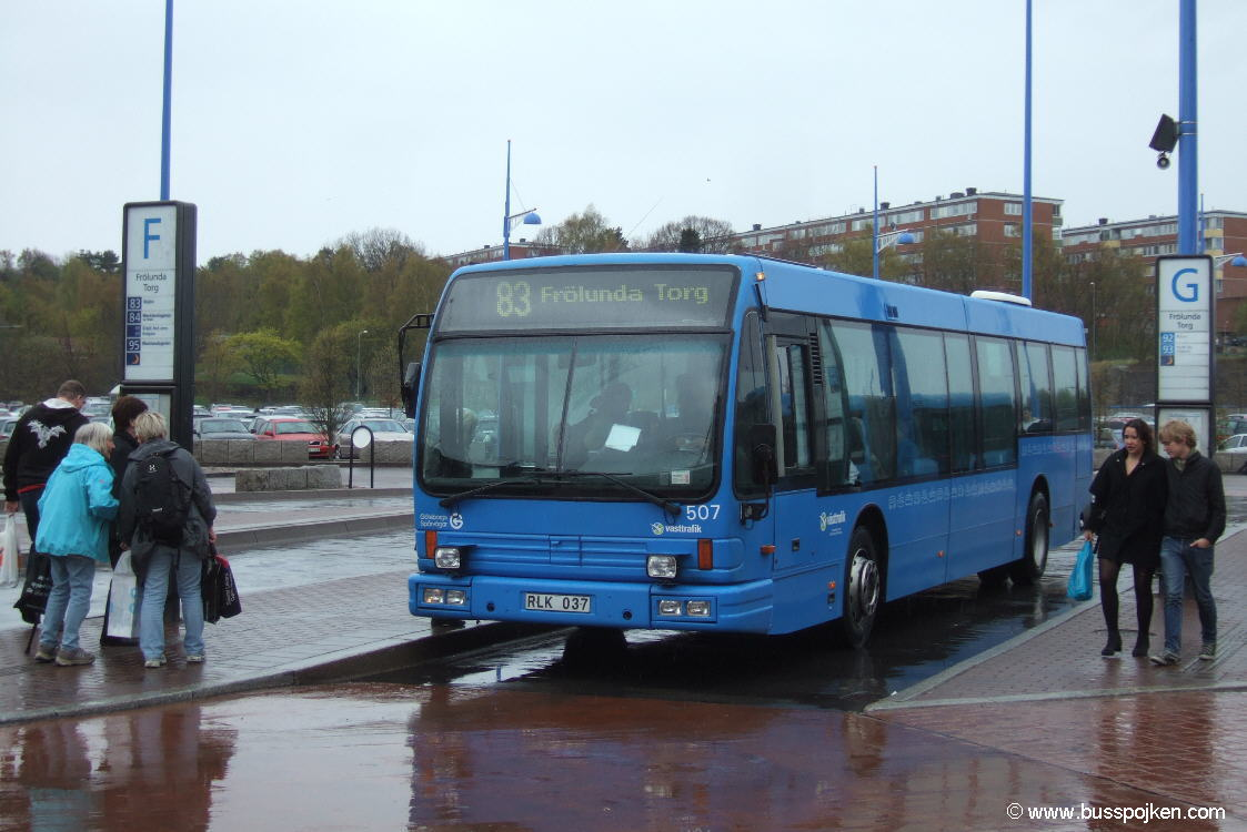 Göteborg Den Oudsten 507, Frölunda torg.