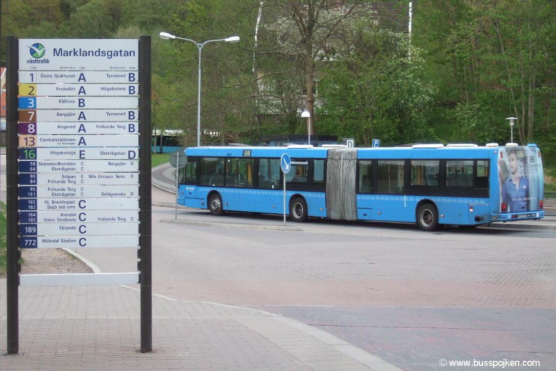 Göteborg Den Oudsten 321, Marklandsgatan.