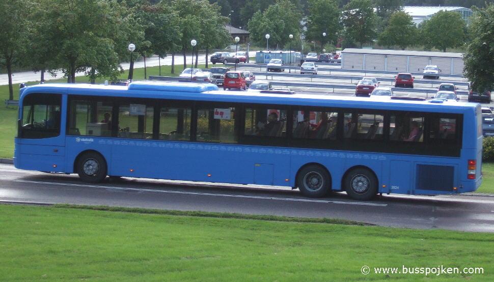 Keolis/ Busslink/ SL 2824 by Soldatheden in August 2010.