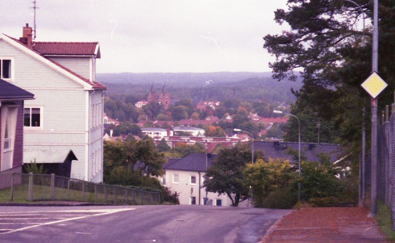 View over Kristinehamn.