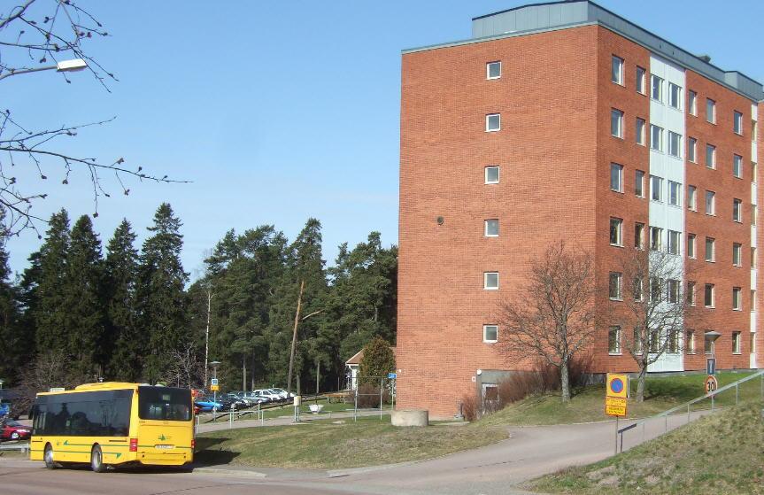 Nobina 6478, route 62 by Stenstaliden.