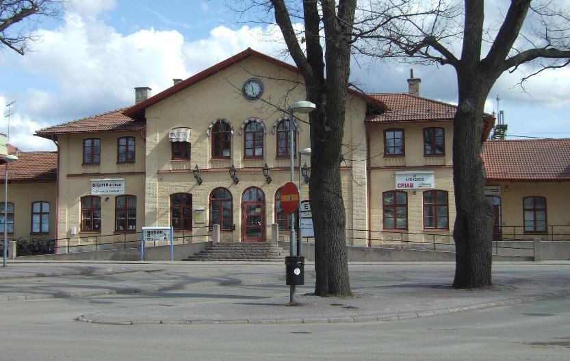 Kristinehamn station.