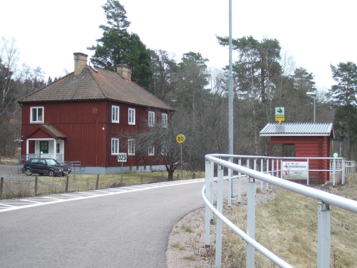 Nykroppa station.
