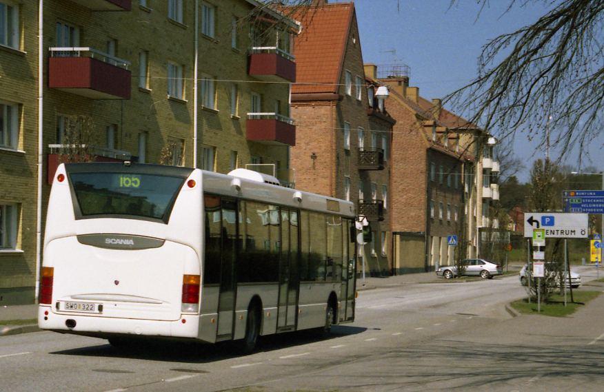 SWO 322 in Nyköping.