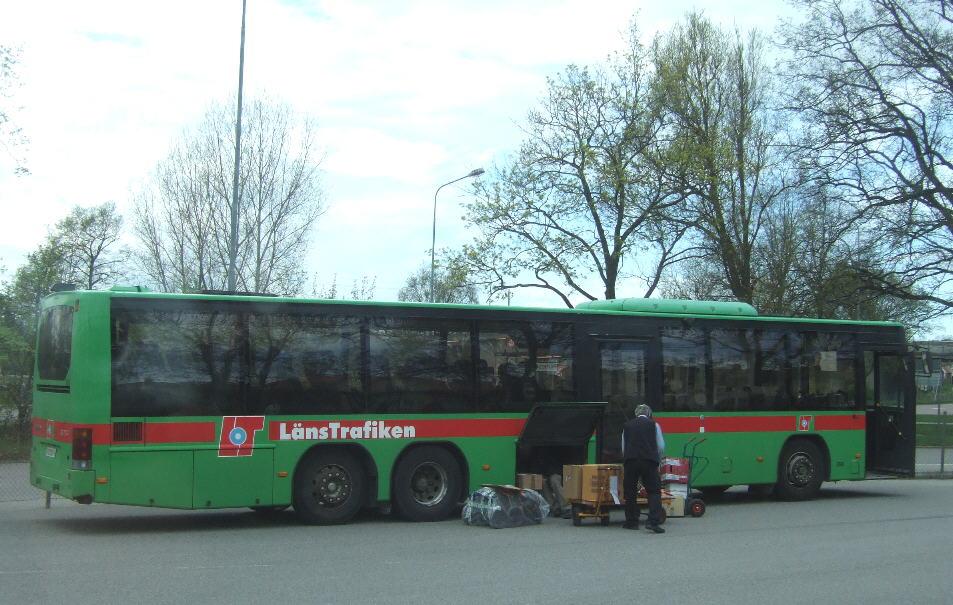 LT 2656, service 701. Nyköping bus terminal.