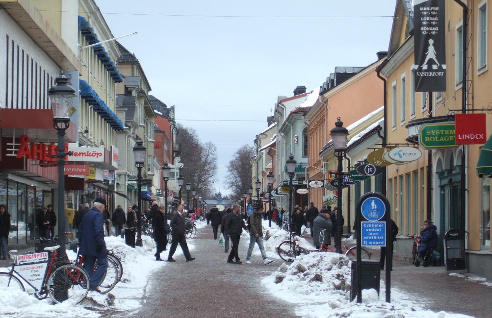Västra Storgatan, Nyköping 2010.