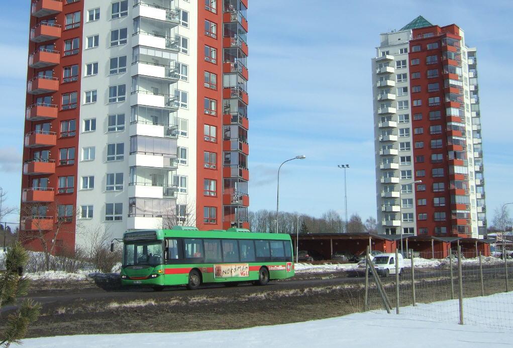 1103, route 163. Brandholmen, Nyköping in 2010.